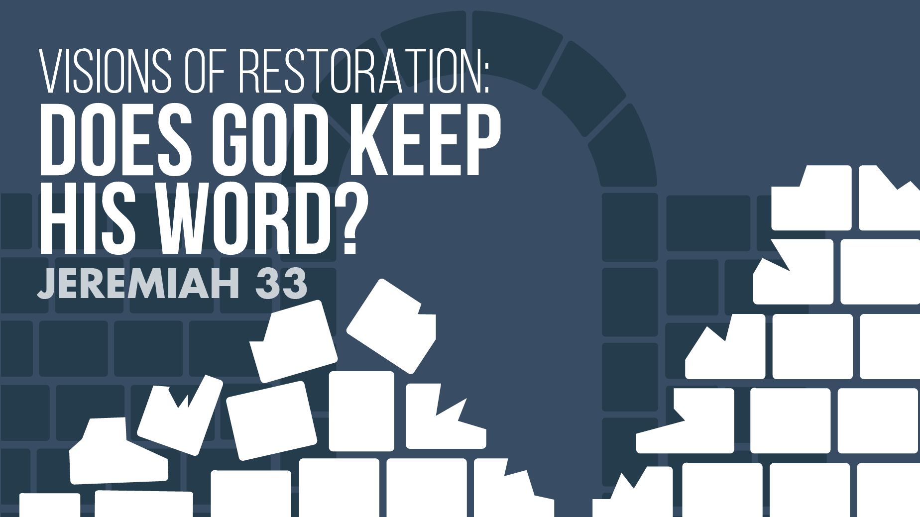 September 13, 2020 Online Sermon: Does God Keep His Word?