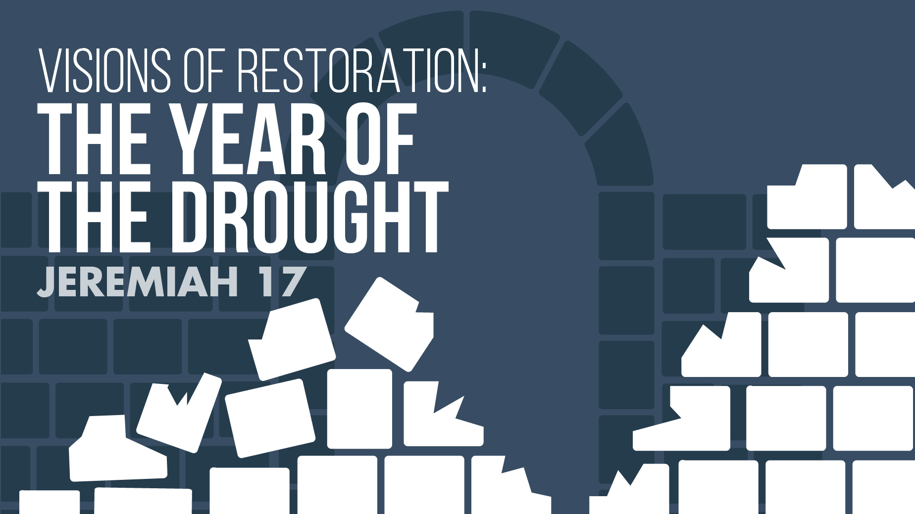 September 20, 2020 In-Person Sermon: The Year of the Drought